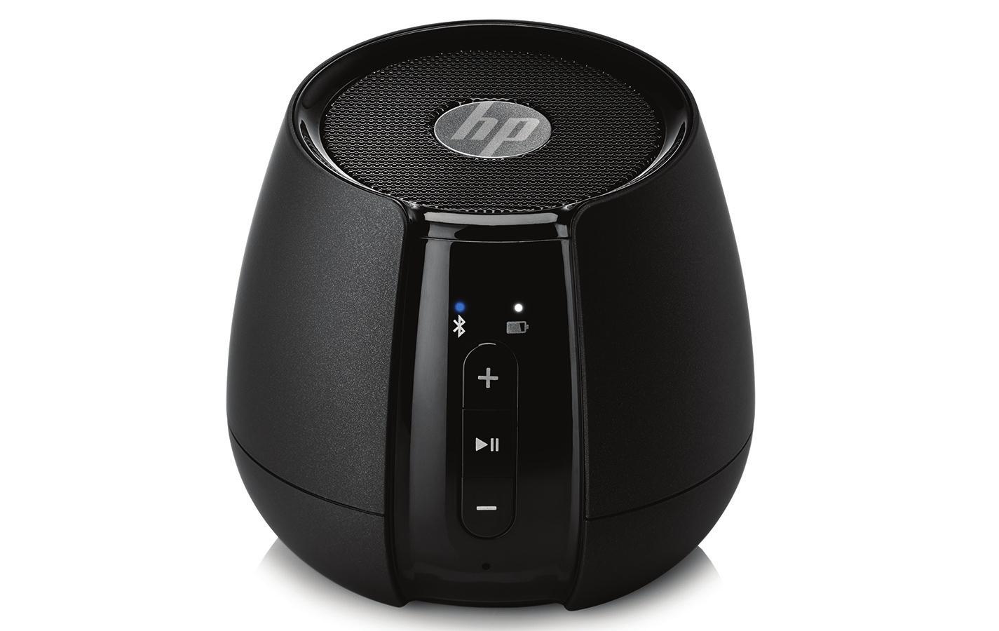 HP S6500 Stereo portable speaker 4W Black