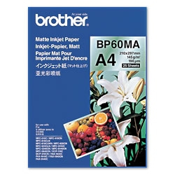 Brother BP60MA Inkjet Paper A4 (210×297 mm) Matte White printing paper