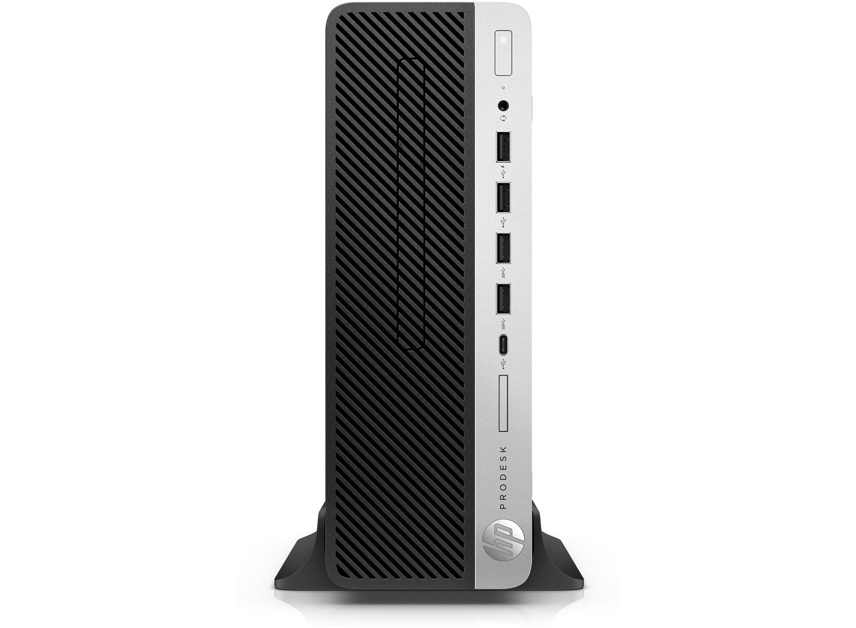HP ProDesk 600 G4 SFF 3GHz i5-8500 8th gen Intel® Core™ i5 Black, Silver PC