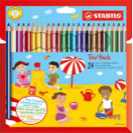 STABILO Trio thick colour pencil 24 pc(s) Multi
