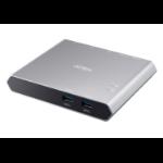 Aten 2-Port USB-C Gen 1 Dock Switch