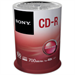 Sony CD-R 48X 700MB SPINDLE 100PCS