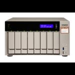 QNAP TVS-873E RX-421BD Ethernet LAN Tower Grijs NAS