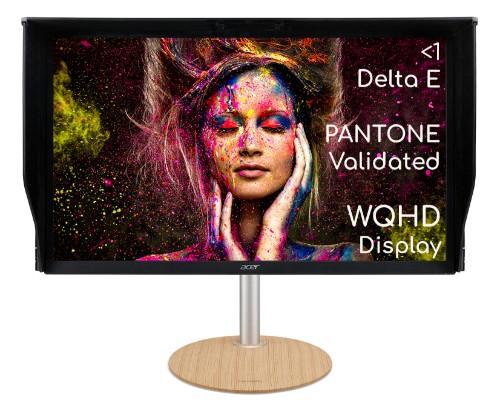 Acer ConceptD CP5271UV QHD 144Hz (170Hz OC) 1ms professional monitor for creators