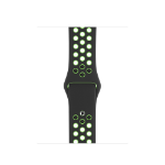 Apple MXQW2ZM/A smartwatch accessory Band Black, Lime Fluoroelastomer