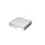 iogear MiniView USB with cables and audio KVM switch Silver