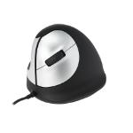 R-Go Tools R-Go HE Mouse, Ergonomisch muis, Medium (Handlengte 165-185mm), Linkshandig, bedraad