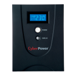 CyberPower VALUE2200EILCD 2200VA 6AC outlet(s) Tower Black uninterruptible power supply (UPS)