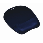 Fellowes Memory Foam Mouse Pad/Wrist Rest Sapphire
