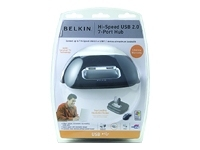 Belkin Hi-Speed USB 2.0 7-Port Hub - hub - 7 ports