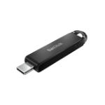 Sandisk Ultra USB flash drive 128 GB USB Type-C 3.2 Gen 1 (3.1 Gen 1) Zwart