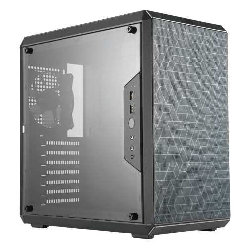 Cooler Master MasterBox Q500L Midi Tower Black