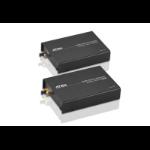 Aten VE882 AV extender AV transmitter & receiver Black