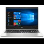 """HP ProBook 450 G7 Notebook Silver 39.6 cm (15.6"""") 1366 x 768 pixels 10th gen Intel® Core™ i5 8 GB DDR4-SDRAM 256 GB SSD Wi-Fi 6 (802.11ax) Windows 10 Pro"""