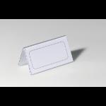 Durable 8051-19 Transparent non-metallic nameplate
