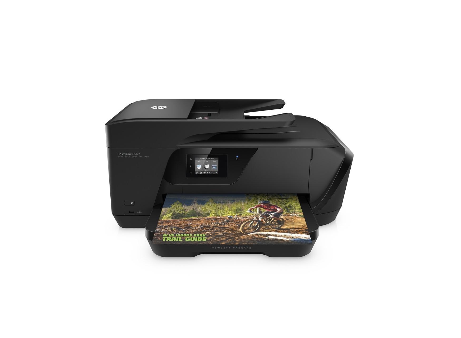 HP OfficeJet 7510 Wide Format AiO Inkjet A3 Wi-Fi Black