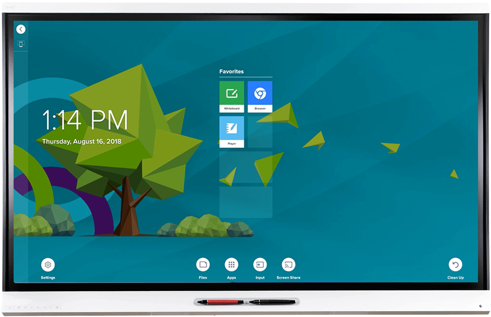 "Smart Board 6065 touch screen monitor 163.8 cm (64.5"") 3840 x 2160 pixels White Multi-touch Multi-user"