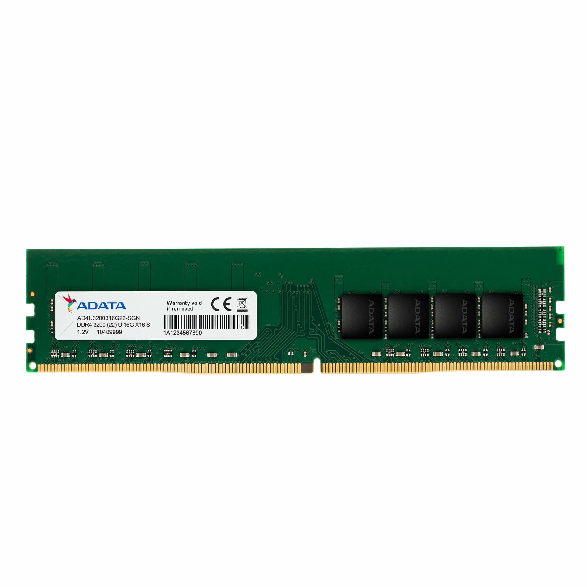 ADATA AD4U3200716G22-SGN memory module 16 GB DDR4 3200 MHz