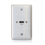 C2G 39870 wall plate/switch cover Aluminum