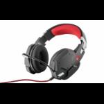 Trust GXT 322 Binaural Head-band Black, Red