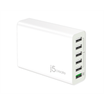 j5 create JUP60 Indoor White mobile device charger