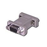 C2G DB9 F/F Gender Changer DB9-Pin DB9-Pin Grey cable interface/gender adapter