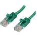 StarTech.com Cable de Red de 5m Verde Cat5e Ethernet RJ45 sin Enganches