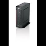 Fujitsu ESPRIMO Q957 2.70GHz i5-7500T Mini PC Black, Red PC
