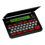 Franklin CWM-109 electronic dictionary QWERTY