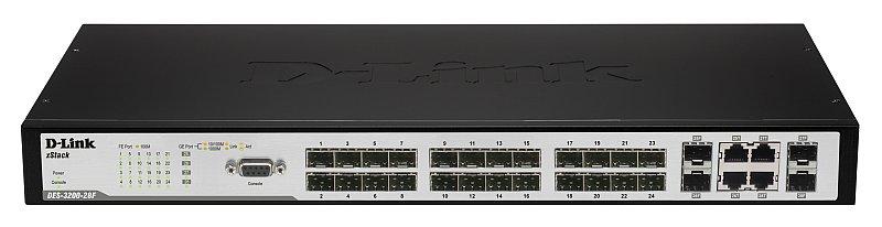 D-Link DES-3200-28 network switch