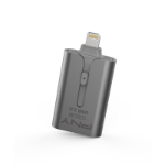 PNY Duo-Link 3.0 USB flash drive 128 GB USB Type-A / Lightning 3.0 (3.1 Gen 1) Grey
