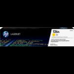 HP 126A Origineel Geel 1 stuk(s)