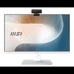"MSI AM241P 11M-082EU 60.5 cm (23.8"") 1920 x 1080 pixels 11th gen Intel® Core™ i5 8 GB DDR3L-SDRAM 256 GB SSD Windows 10 Pro Wi-Fi 6 (802.11ax) All-in-One PC White"