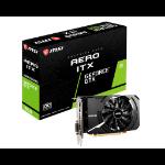 MSI GEFORCE GTX 1650 D6 AERO ITX OC graphics card NVIDIA 4 GB GDDR6