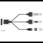 HPE P25129-B21 - Apollo 20 Serial/USB/VGA Dongle