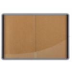 Nobo Internal Glazed Case Cork 18xA4