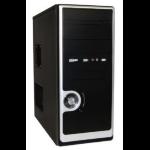 CIT 2036 Black/Silver Midi Case with 500W PSU