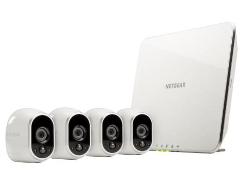Netgear Arlo IP security camera Indoor & outdoor Bullet White 1280 x 720pixels