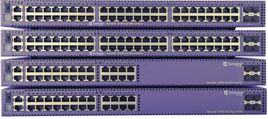 Extreme networks X450-G2-48P-10GE4-BASE Gestionado L2/L3 Gigabit Ethernet (10/100/1000) Violeta 1U Energía sobre Ethernet (PoE)