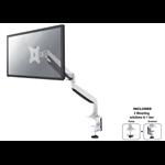 """Newstar NM-D750WHITE 32"""" Clamp/Bolt-through White flat panel desk mount"""