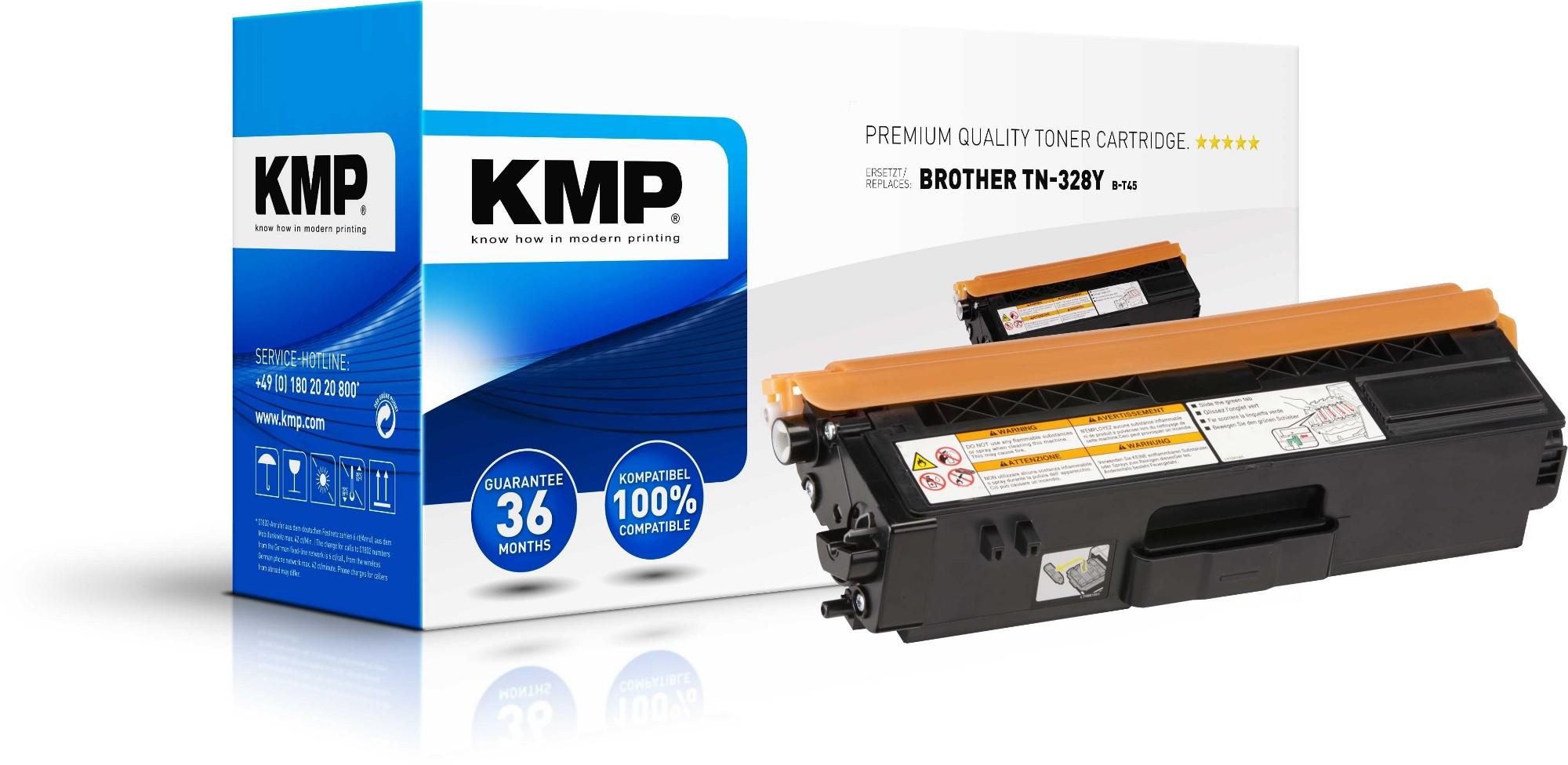 KMP 1244,0009 toner cartridge Yellow 1 pc(s)