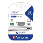 VERBATIM OTG TYPE INCIN 32GB USB 3.0.