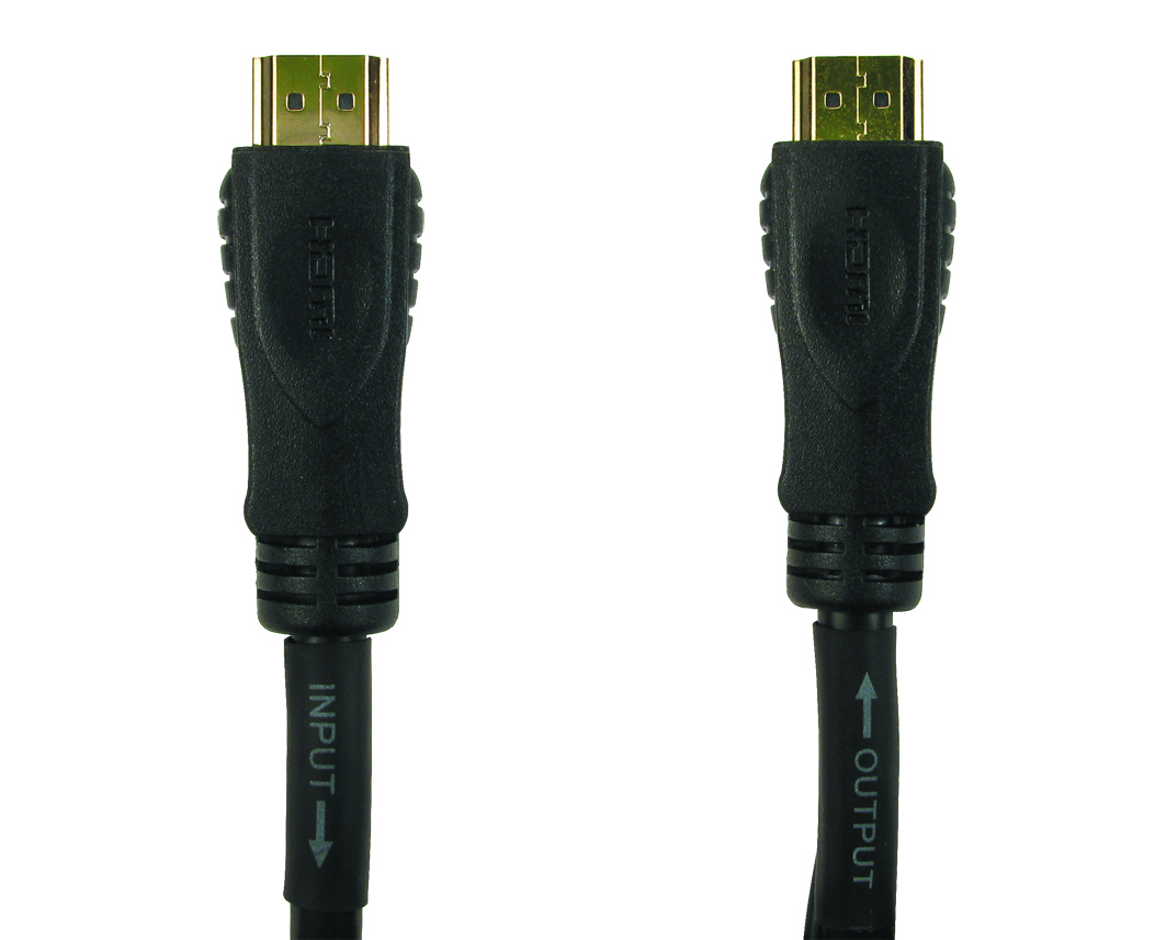 Cables Direct HDMI 30m 30m HDMI HDMI Black HDMI cable