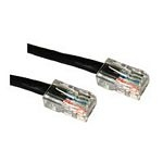 C2G Cat5E Crossover Patch Cable Black 3m networking cable