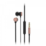 KitSound Hudson Headset In-ear 3.5 mm connector Black, Rose gold KSHUDSRG