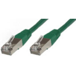 Microconnect 1.5m Cat6 FTP 1.5m Green networking cable