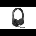 Logitech MSFT Teams Zone Wireless Kopfhörer Kopfband Bluetooth Graphit