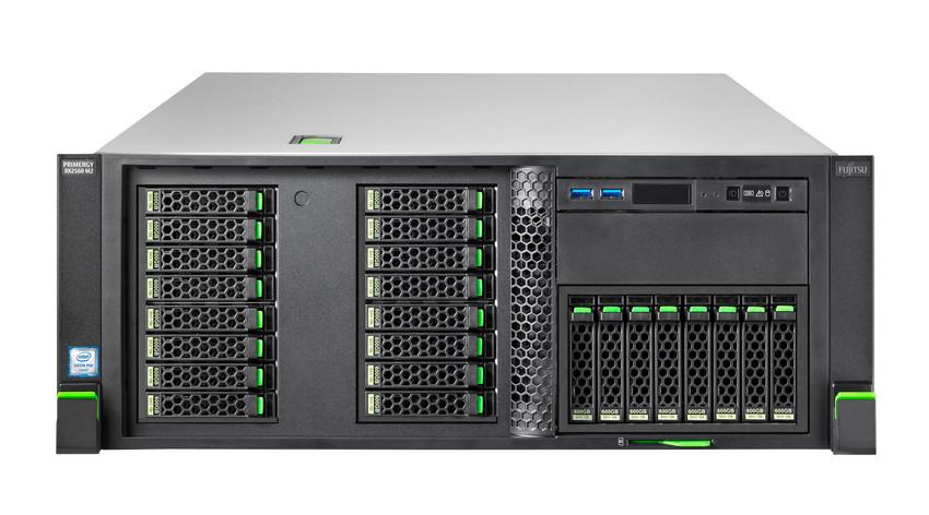 Fujitsu PRIMERGY RX2560 M2 2.1GHz E5-2620V4 Rack (4U) server