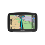 "TomTom Start 62 navigator 15.2 cm (6"") Touchscreen Handheld/Fixed Black 280 g"