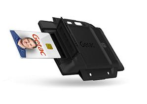 Getac GORSX2 smart card reader Indoor/Outdoor Black
